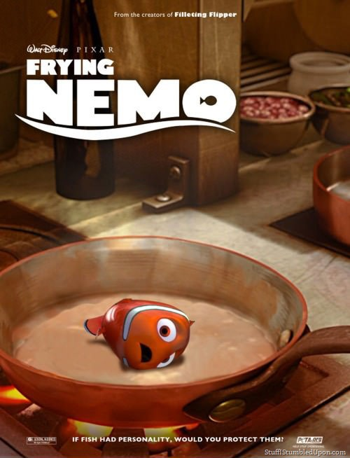 Frying Nemo-15 Hilarious Disney Memes That Will Make You Lol