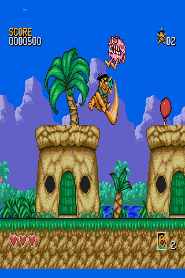 The Flintstones Video Game-Best Old Video Games Of 90's