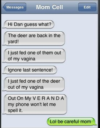 Iphone autocorrect being pervert?-Funniest Iphone Autocorrect Fails