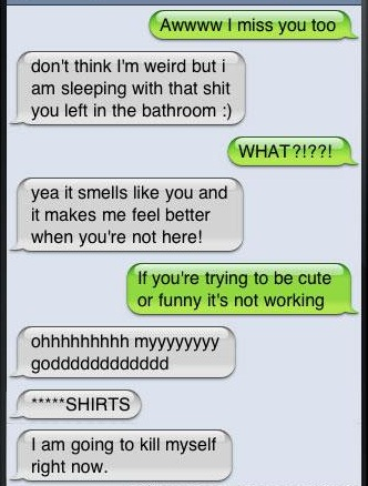 sleeping with your sh*t...-Funniest Iphone Autocorrect Fails