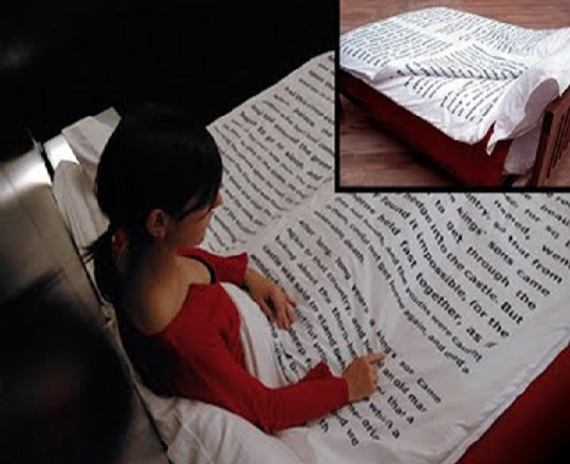 Story printed bed sheet-15 Most Insane Bed Sheets That Will Make You Say WTF!