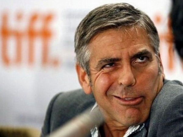 George Clooney-15 Stupidest Faces Our Favorite Celebrities Make