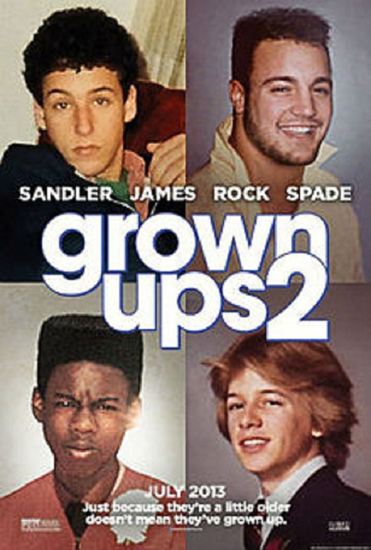 Grown Ups 2-Worst Movies Of 2013 So Far