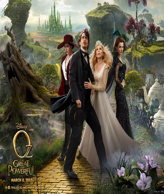 OZ The Great and Powerful-Best Movies Released In 2013 Till Now