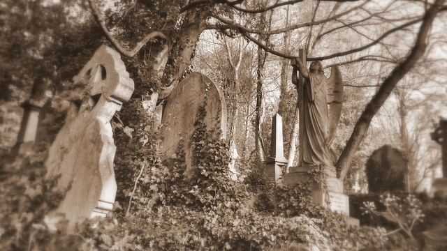High gate cemetery-Most Haunted Places In The World