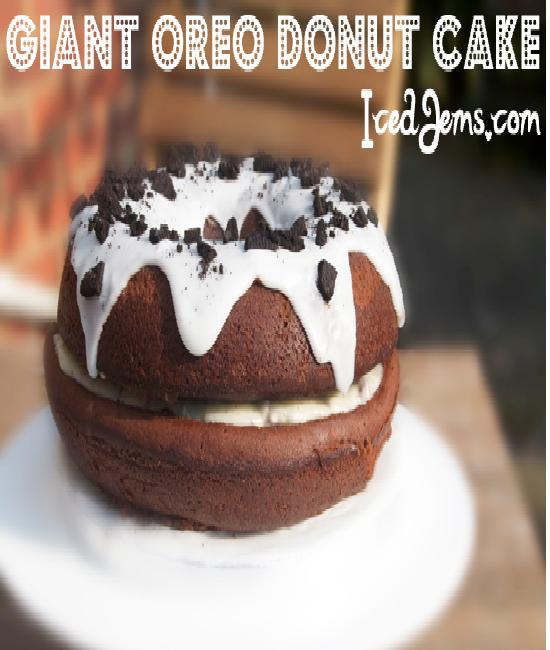 Donut Cake-Creative Oreo Desserts