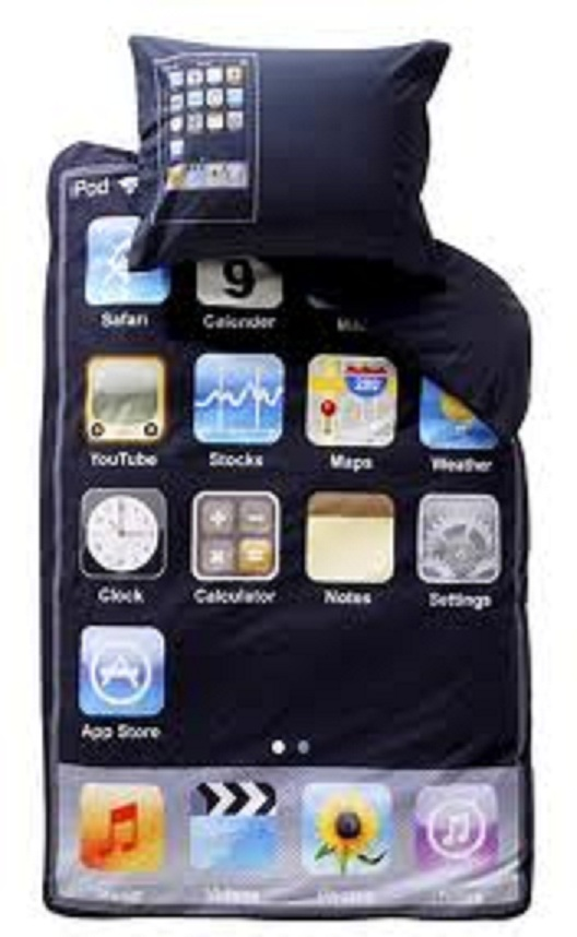 Iphone Bed Sheet-15 Most Insane Bed Sheets That Will Make You Say WTF!