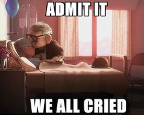 Admit it we all cried-15 Hilarious Disney Memes That Will Make You Lol