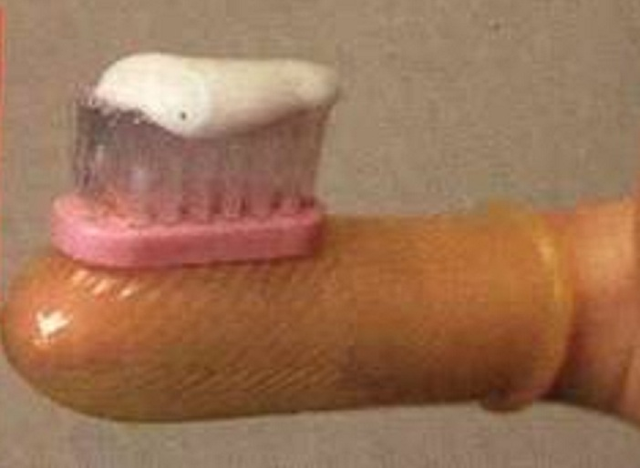 Finger Tooth Brush!!-Insane Japanese Inventions