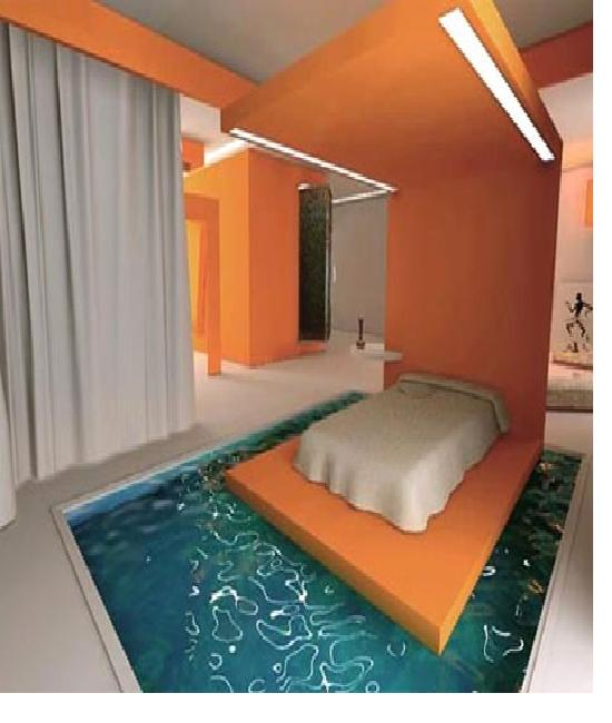 Swimming pool craziest beds for Swimming pool bed
