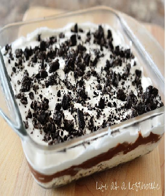 Cream bake-Creative Oreo Desserts