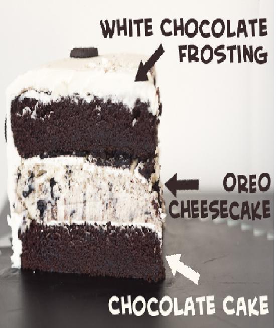 Mega Cheesecake-Creative Oreo Desserts