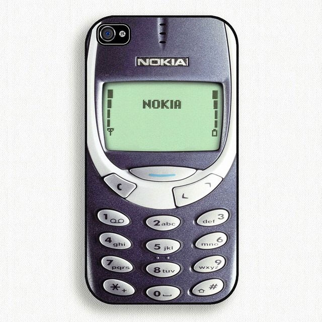Give it Nokia's stone look-Top 15 Craziest IPhone Cases