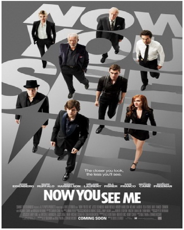 Now You See Me-Best Movies Released In 2013 Till Now