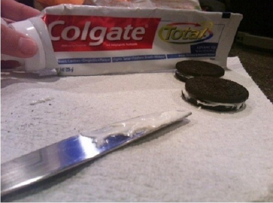 Tooth paste and Oreo prank-Best Pranks For April Fool's Day