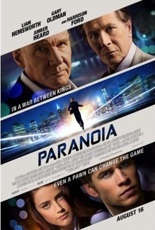 Paranoia-Worst Movies Of 2013 So Far