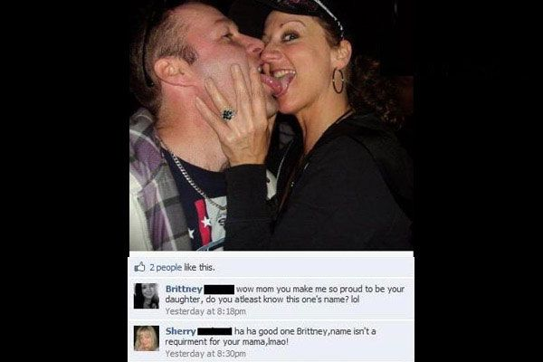 Mom Doesn't Know The Guy's Name-15 People Who Shouldn't Be On Facebook