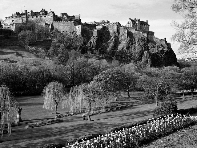 Scottish hills-Most Haunted Places In The World