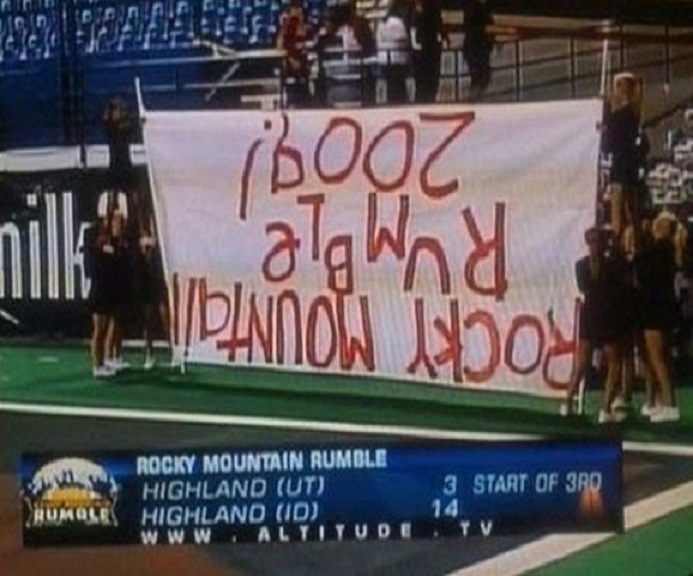 The sign-Top 15 Cheerleading Fails That Will Make You Lol