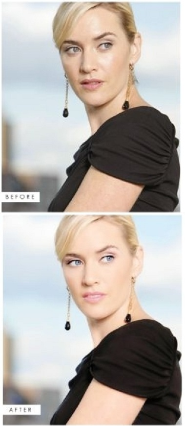 Models & Celebrities before and after photoshop photoshop ...