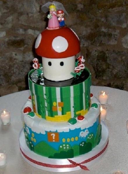 Mario Wedding Cake 15 Weirdest Wedding Cakes You Ll Ever See