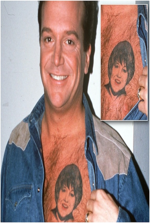 Top 15 worst chest tattoos ever for Tom arnold tattoo