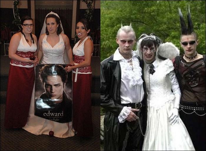 Scary wedding photos-Hilarious Wedding Photos