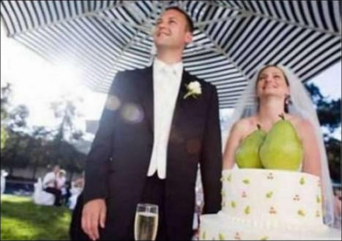 Are those melons?-Hilarious Wedding Photos