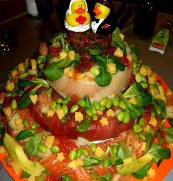 Weirdest Wedding Cakes - Healthy Wedding Cakes