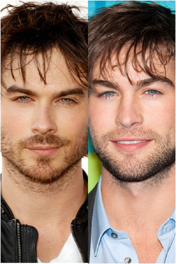 Ian Somerhalder & Chace Crawford-15 Surprising Celebrity Lookalikes That You Haven't Noticed